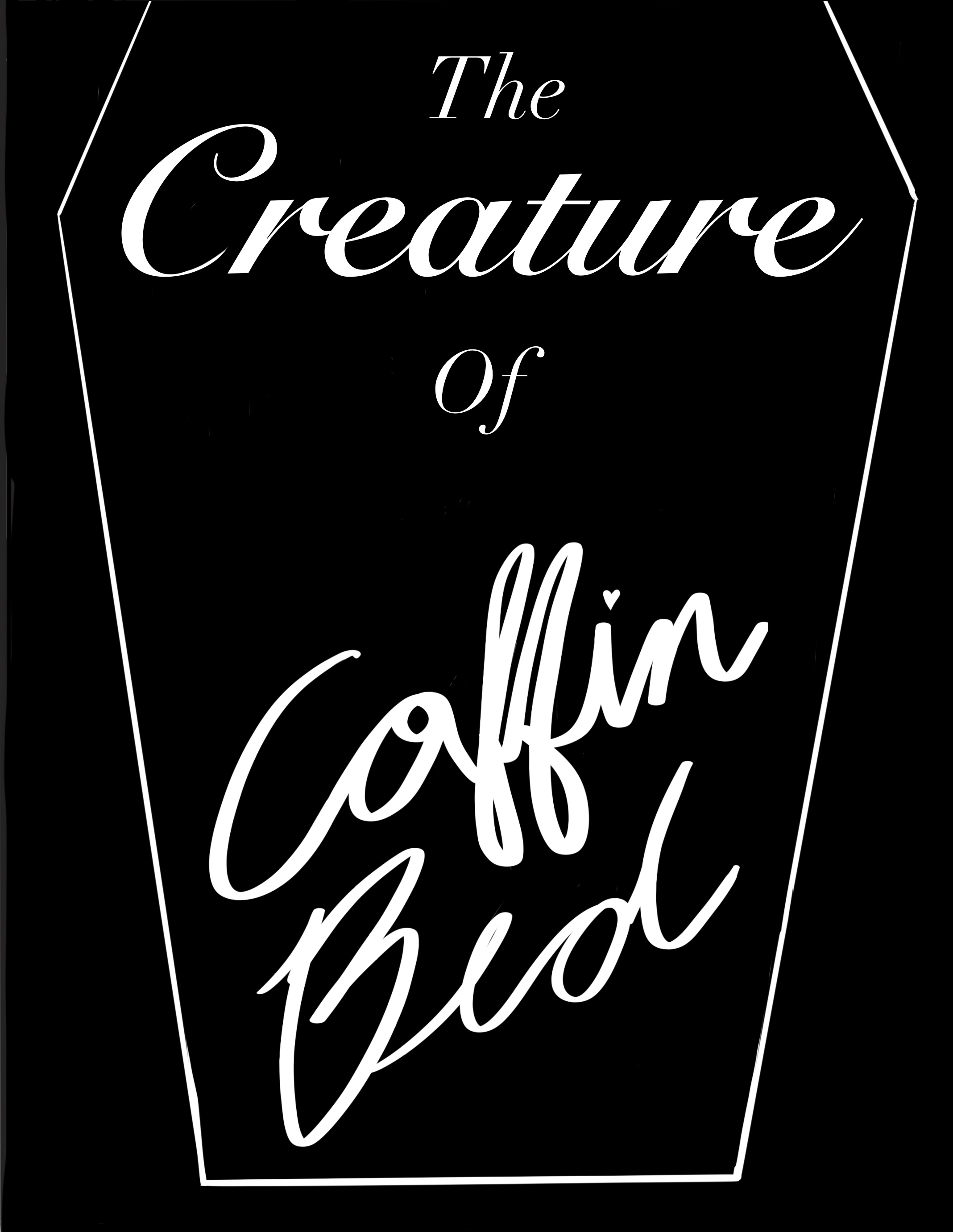 Creature of Coffin Bed Cover by Kahbbie